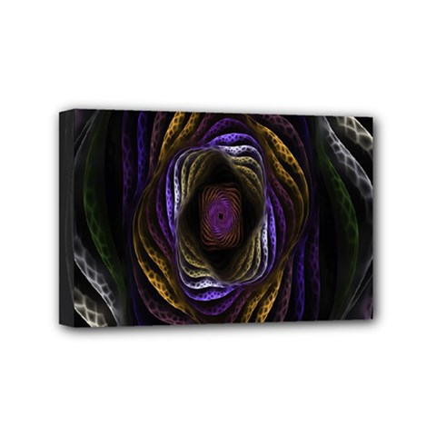 Abstract Fractal Art Mini Canvas 6  x 4