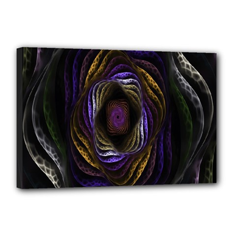 Abstract Fractal Art Canvas 18  x 12