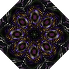 Abstract Fractal Art Folding Umbrellas