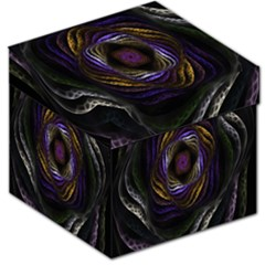 Abstract Fractal Art Storage Stool 12