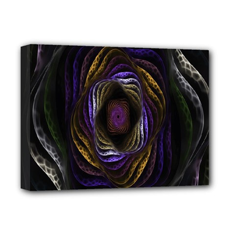 Abstract Fractal Art Deluxe Canvas 16  x 12