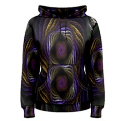 Abstract Fractal Art Women s Pullover Hoodie