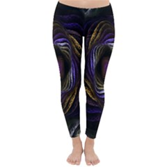 Abstract Fractal Art Classic Winter Leggings
