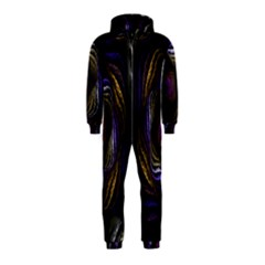 Abstract Fractal Art Hooded Jumpsuit (Kids)