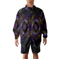 Abstract Fractal Art Wind Breaker (Kids)