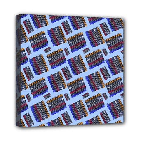 Abstract Pattern Seamless Artwork Mini Canvas 8  x 8