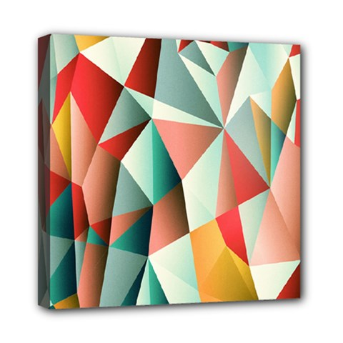 Abstracts Colour Mini Canvas 8  X 8