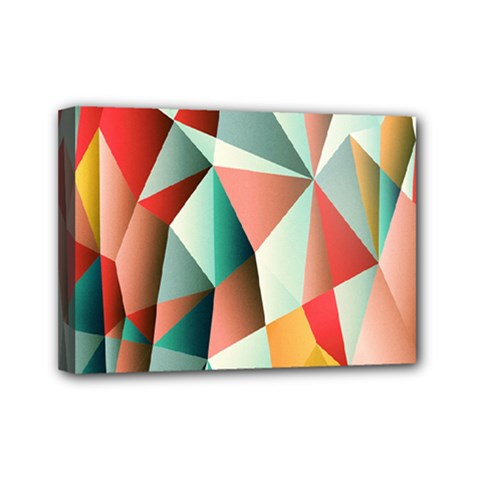Abstracts Colour Mini Canvas 7  x 5