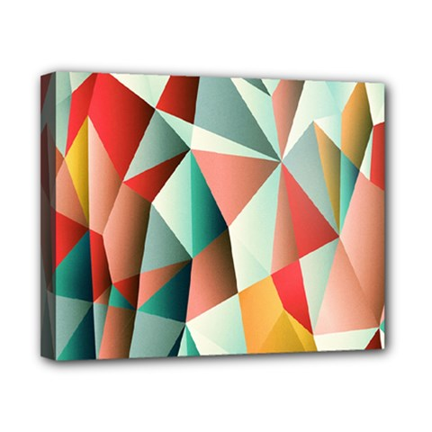 Abstracts Colour Canvas 10  x 8