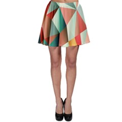 Abstracts Colour Skater Skirt