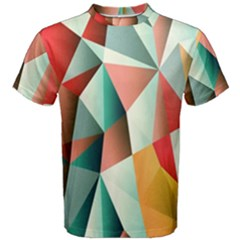 Abstracts Colour Men s Cotton Tee