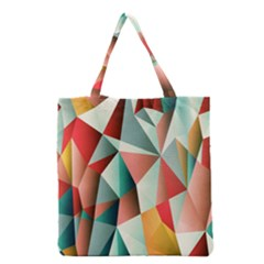 Abstracts Colour Grocery Tote Bag
