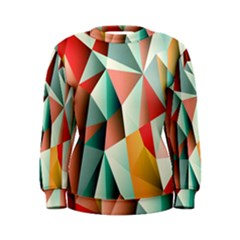 Abstracts Colour Women s Sweatshirt