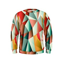 Abstracts Colour Kids  Sweatshirt