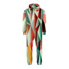 Abstracts Colour Hooded Jumpsuit (Kids)