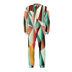 Abstracts Colour Onepiece Jumpsuit (kids)