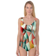 Abstracts Colour Princess Tank Leotard