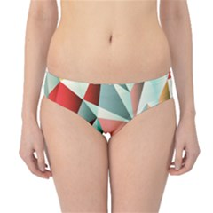 Abstracts Colour Hipster Bikini Bottoms