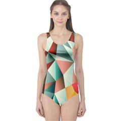 Abstracts Colour One Piece Swimsuit