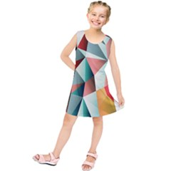 Abstracts Colour Kids  Tunic Dress