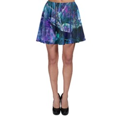 Abstract Ship Water Scape Ocean Skater Skirt