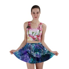 Abstract Ship Water Scape Ocean Mini Skirt