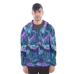 Abstract Ship Water Scape Ocean Hooded Wind Breaker (men)