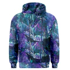 Abstract Ship Water Scape Ocean Men s Pullover Hoodie