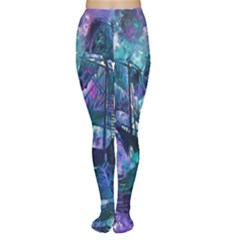 Abstract Ship Water Scape Ocean Women s Tights