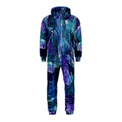 Abstract Ship Water Scape Ocean Hooded Jumpsuit (Kids)