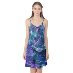Abstract Ship Water Scape Ocean Camis Nightgown