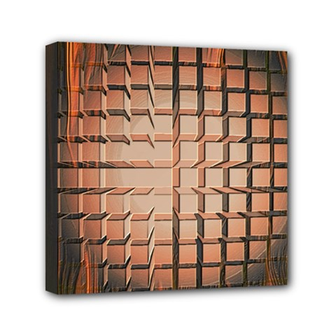 Abstract Texture Background Pattern Mini Canvas 6  X 6