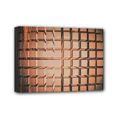 Abstract Texture Background Pattern Mini Canvas 7  x 5