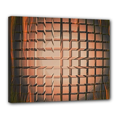 Abstract Texture Background Pattern Canvas 20  x 16