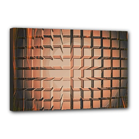 Abstract Texture Background Pattern Canvas 18  X 12