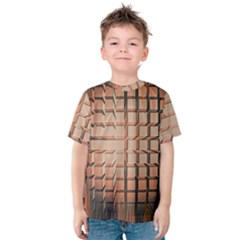 Abstract Texture Background Pattern Kids  Cotton Tee