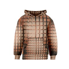 Abstract Texture Background Pattern Kids  Pullover Hoodie