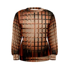 Abstract Texture Background Pattern Women s Sweatshirt