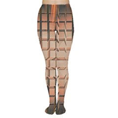 Abstract Texture Background Pattern Women s Tights