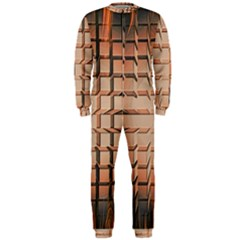 Abstract Texture Background Pattern OnePiece Jumpsuit (Men)