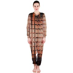 Abstract Texture Background Pattern OnePiece Jumpsuit (Ladies)