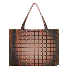 Abstract Texture Background Pattern Medium Tote Bag