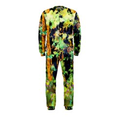Abstract Trees Flowers Landscape OnePiece Jumpsuit (Kids)