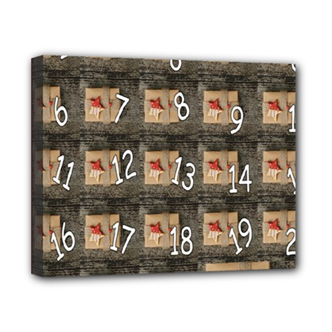 Advent Calendar Door Advent Pay Canvas 10  X 8