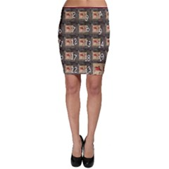 Advent Calendar Door Advent Pay Bodycon Skirt
