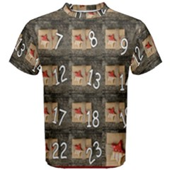 Advent Calendar Door Advent Pay Men s Cotton Tee