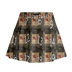 Advent Calendar Door Advent Pay Mini Flare Skirt