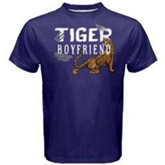 Tiger Boyfriend   Men s Cotton Tee