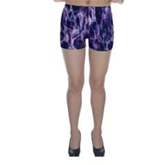 Agate Naturalpurple Stone Skinny Shorts