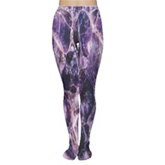 Agate Naturalpurple Stone Women s Tights